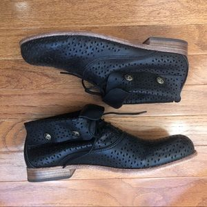 Patricia Nash Sabrina Perforated Leather Booties